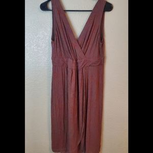 Fresh Produce Mauve Sleeveless Cotton Sundress